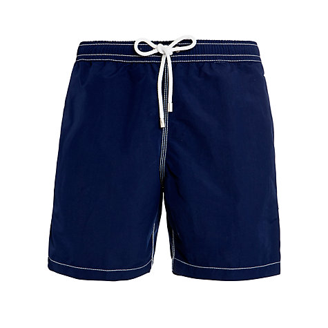 Buy Hartford Plain Swim Shorts, Navy Online at johnlewis.com