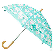 Buy Hatley Children's Hot Air Balloon Umbrella, Turquoise Online at johnlewis.com