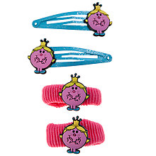 Buy John Lewis Girl Little Miss Princess Hair Accessory Set, Pack of 4, Multi Online at johnlewis.com