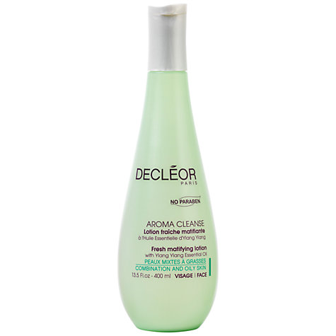 Buy Decléor Fresh Matifying Lotion with Ylang Ylang Essential Oil, 400ml Online at johnlewis.com