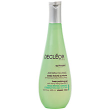Buy Decléor Fresh Purifying Gel with Ylang Ylang Essential Oil, 400ml Online at johnlewis.com