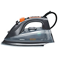 Buy Siemens TB76XTRMGB Steam Iron, Grey Online at johnlewis.com