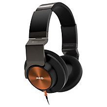 Buy AKG K545 On-Ear Headphones with Dual Apple/Universal Mic/Remote Online at johnlewis.com