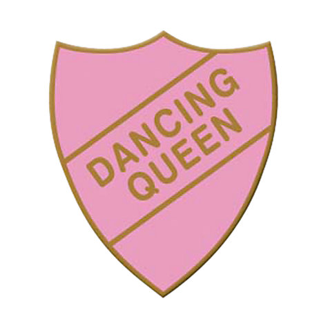 Buy Wild & Wolf Old School Dancing Queen Badge Online at johnlewis.com