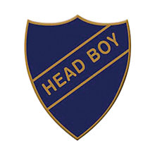 Buy Wild & Wolf Head Boy Old School Vintage Badge Online at johnlewis.com