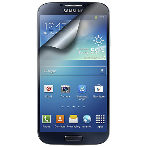 Buy Kondor Screen Protector for Samsung Galaxy S4 Online at johnlewis.com