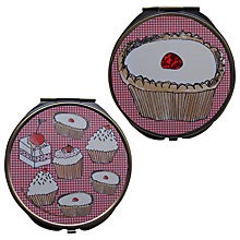 Buy Disaster Designs Tea & Cake Compact Mirror Online at johnlewis.com