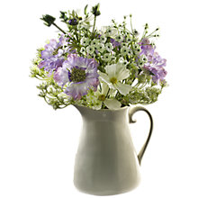 Buy Peony Cow Parsley Jug, Multi, Medium Online at johnlewis.com