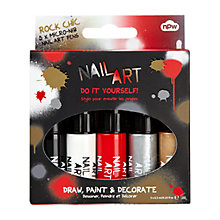 Buy Nail Art Set, Pack of 5 Online at johnlewis.com