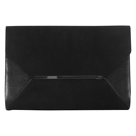 Buy Coast Mirade Clutch Bag, Black Online at johnlewis.com