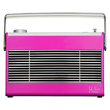 Buy John Lewis Aston DAB/FM Radio, Magenta Online at johnlewis.com
