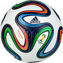 Buy Adidas Brazuka Top Replique World Cup 2014 Football, Size 5 Online at johnlewis.com