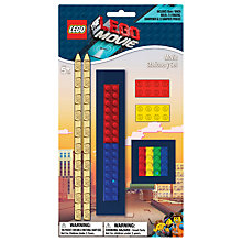 Buy The LEGO Movie 6-Piece Stationery Set Online at johnlewis.com