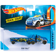 Buy Hot Wheels Track Star Truck, Assorted Online at johnlewis.com