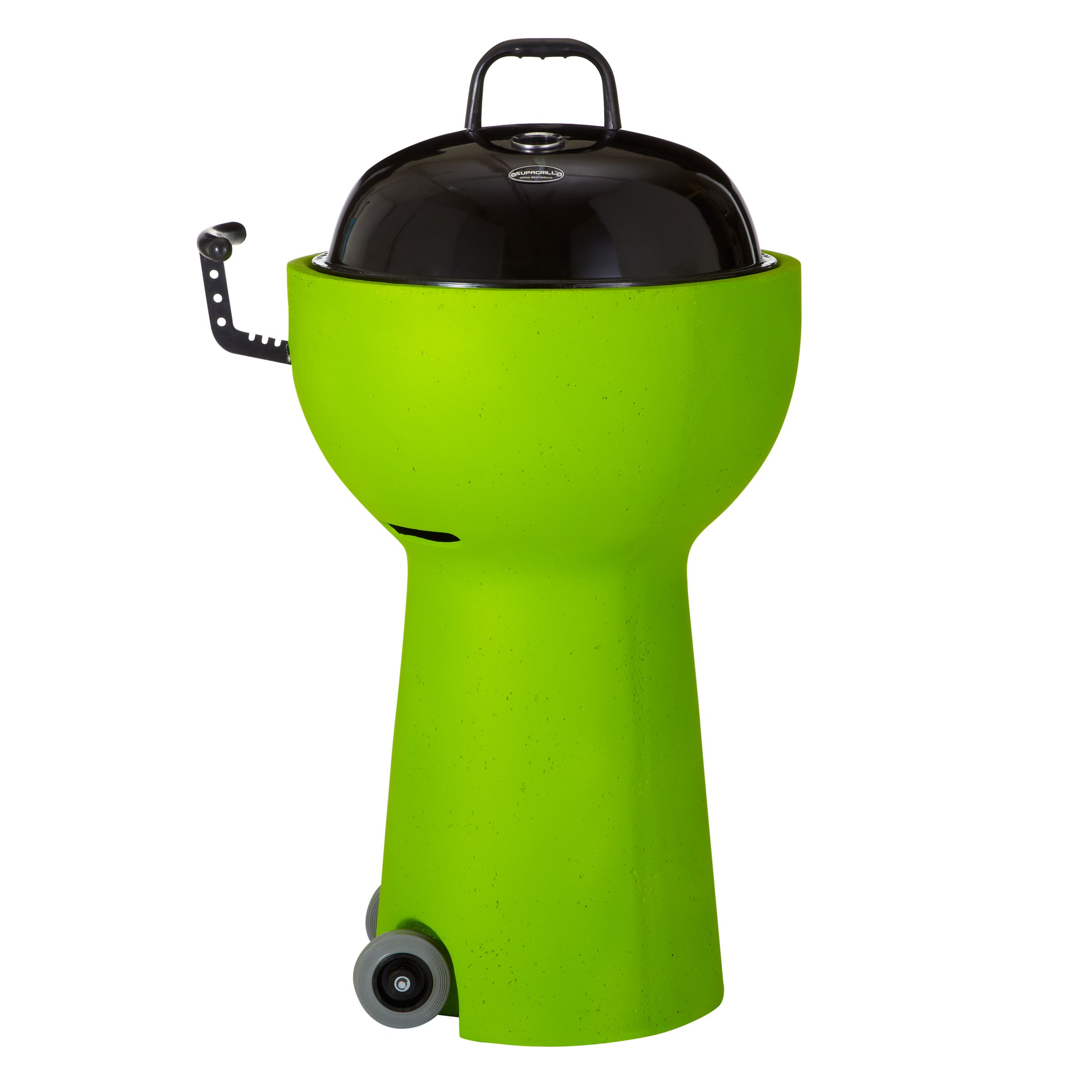 Supagrill Pod Charcoal Barbecue, Dia.45cm, Lime Green