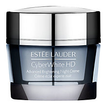 Buy Estée Lauder Cyber White HD Advanced Brightening Night Creme, 50ml Online at johnlewis.com