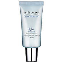 Buy Estée Lauder Cyber White UV Protector Advanced Brightening SPF 50, 30ml Online at johnlewis.com