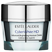 Buy Estée Lauder Cyber White HD Advanced Brightening Moisture Cream, 50ml Online at johnlewis.com