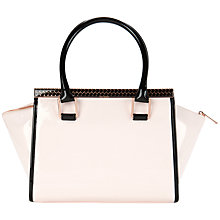 Buy Ted Baker Caranna Tote Handbag, Nude Pink Online at johnlewis.com