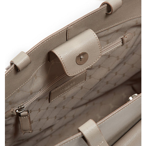 Buy Hobbs Downham Leather Tote Handbag, Fawn Online at johnlewis.com