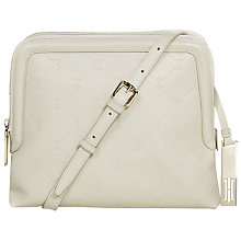 Buy Hobbs Signature Linden Leather Across Body Handbag Online at johnlewis.com