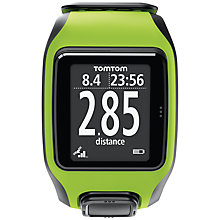 Buy TomTom Multi Sport GPS Watch, Green/Black Online at johnlewis.com