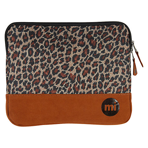 Buy Mi-Pac Tablet Sleeve, H20 x W24, Leopard Online at johnlewis.com