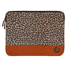 "Buy Mi-Pac Sleeve for 15"" Laptop, Leopard Online at johnlewis.com"