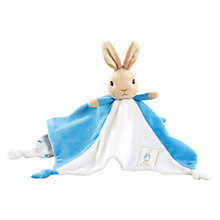 Buy Beatrix Potter Peter Rabbit Baby Comforter Online at johnlewis.com