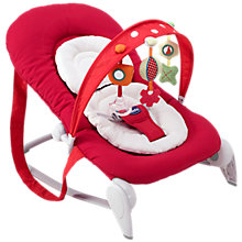 Buy Chicco Hoopla Bouncer, Red Wave Online at johnlewis.com