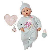 Buy Zapf Baby Annabell Brother George Doll Online at johnlewis.com
