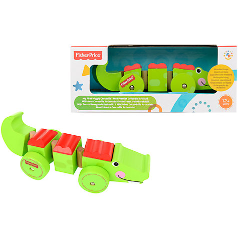 Buy Fisher-Price Crocodile On Wheels Online at johnlewis.com