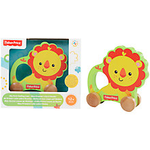Buy Fisher-Price Lion On Wheels Online at johnlewis.com