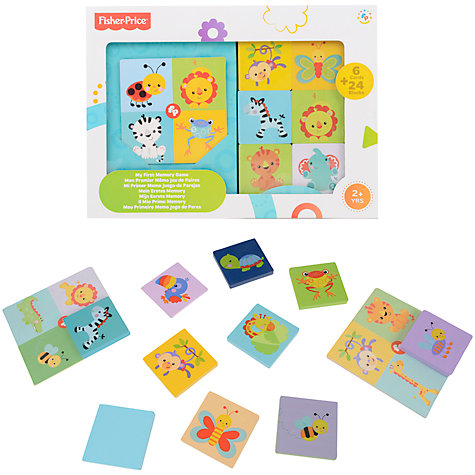 Buy Fisher-Price Matching Animals Board Game Online at johnlewis.com