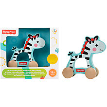 Buy Fisher-Price Zebra On Wheels Online at johnlewis.com