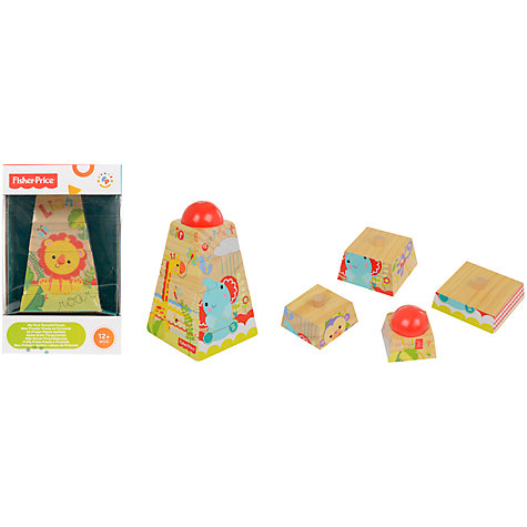 Buy Fisher-Price First Animal Stacker Online at johnlewis.com
