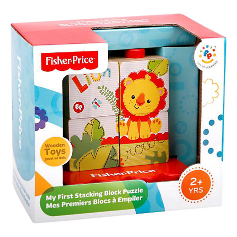 Buy Fisher-Price My First Stacking Block Puzzle Online at johnlewis.com