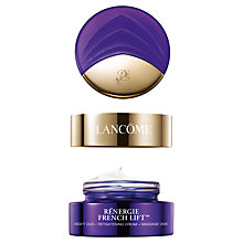 Buy Lancôme Rénergie French Lift Night Duo Retightening Cream, 50ml Online at johnlewis.com