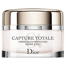 Buy Dior Capture Totale Multi-Perfection Crème for Face & Neck Refill, 60ml Online at johnlewis.com