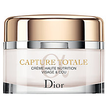 Buy Dior Capture Totale Refill Haute Nutrition Creme, 60ml Online at johnlewis.com
