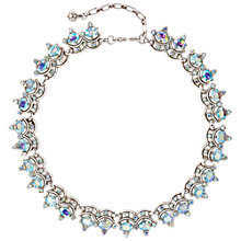 Buy Susan Caplan Vintage 1950s Trifari Silver Plated Swarovski Crystal Necklace Online at johnlewis.com