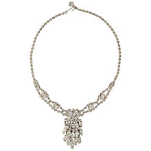 Buy Susan Caplan Vintage 1950s Weiss Silver Plated Crystal Necklace Online at johnlewis.com