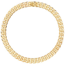 Buy Susan Caplan Vintage 1960s Grosse Gold Plated Textured Necklace Online at johnlewis.com