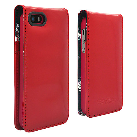 Buy Ted Baker Flip Leather Case for iPhone 5 & 5s Online at johnlewis.com