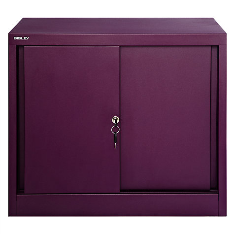 Buy Bisley Sliding Door Storage Cupboard Online at johnlewis.com