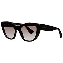 Buy Miumiu MU 02PS  Retro Style Sunglasses Online at johnlewis.com