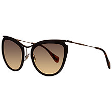 Buy Miu Miu MU 51PS Retro Cat's Eye Sunglasses Online at johnlewis.com