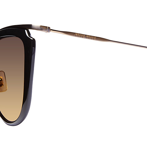 Buy Miu Miu MU51PS Retro Cat's Eye Sunglasses Online at johnlewis.com
