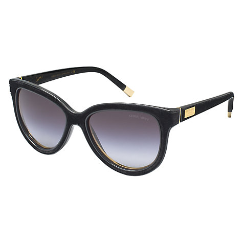 Buy Giorgio Armani AR8025K 50178G Cat's Eye Sunglasses, Black Online at johnlewis.com