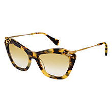 Buy Miumiu MU 03PS Diamanté Retro Sunglasses Online at johnlewis.com